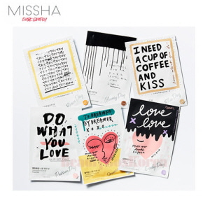 MISSHA A Mask Sheet only For Me 23ml*10ea [Kelly Park Edition]